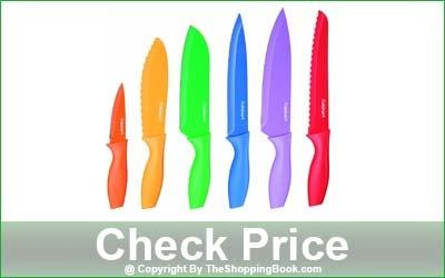 Cuisinart Advantage Color Collection 12-Piece Knife Set
