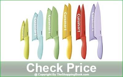 Cuisinart C55-01-12PCKS Advantage Color Collection 12-Piece Knife Set