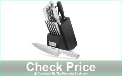 Cuisinart 15-Piece Stainless Steel Hollow Handle Block Set