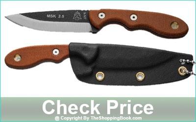 TOPS Knives Mini Scandi Fixed Blade Knife MSK-2.5