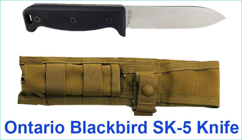 Ontario Blackbird SK-5 Knife Review