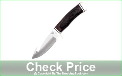 Buck Gut hook hunting Fixed Blade Knife