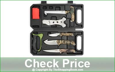 MOSSY OAK 8-Piece Hunting Portable Butcher Game Processor Set