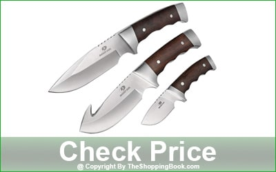Mossy Oak 3-Piece Fixed Blade Game Hunting Knife Set