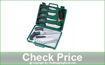 Outdoor Edge 12-Piece Game Processing Knife Set